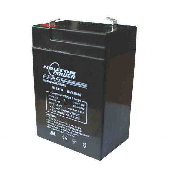 SEALED LEAD ACID BATTERY 6V 4.5AH